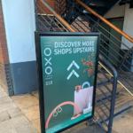 Oxo Tower wharf Promo Board