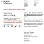 Talk British Museum BP Theater