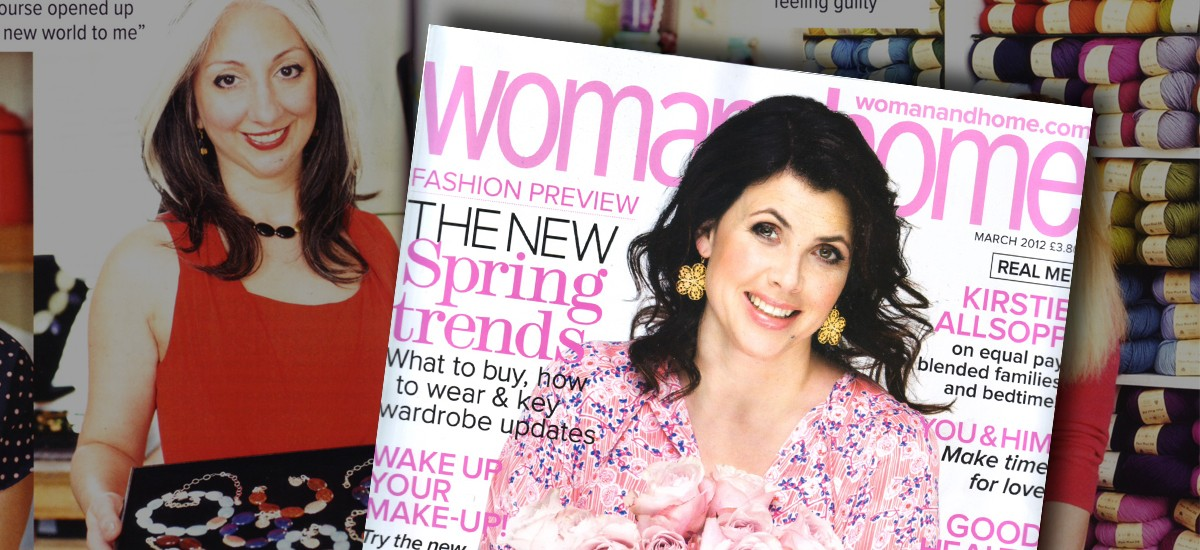 featured Woman and Home magazine