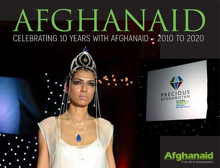 Sima Vaziry supports Afghanaid