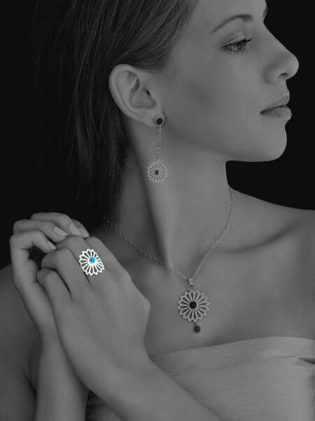 Alina Flower ring
