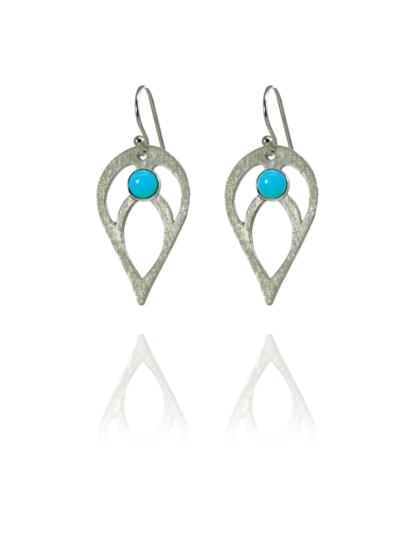Bloom turquoise earrings