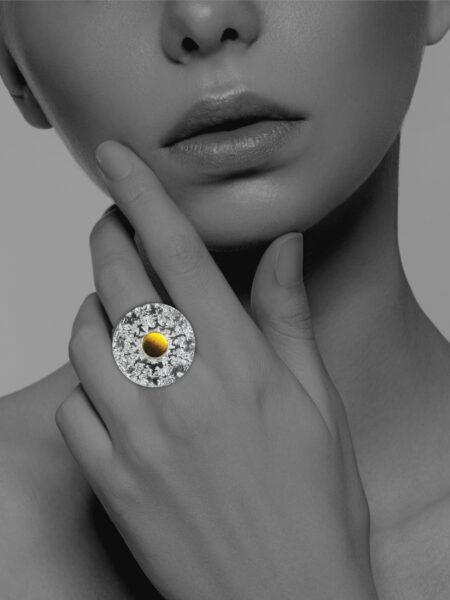 Coin Dome ring