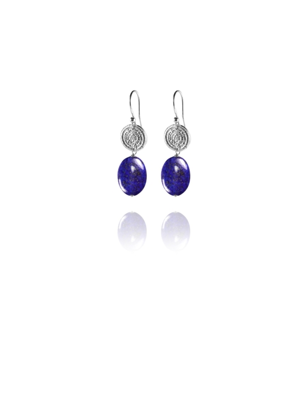 Hope lapis small earrings