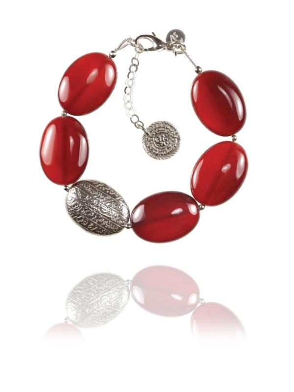 Hope carnelian bracelet