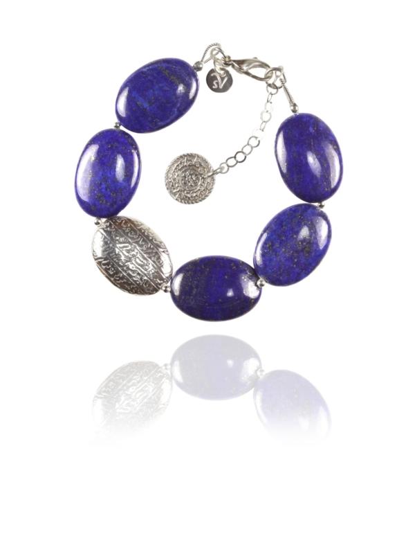 Hope lapis bracelet