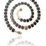 Journey Gateway necklace silver vermeil hematite 82431H 1
