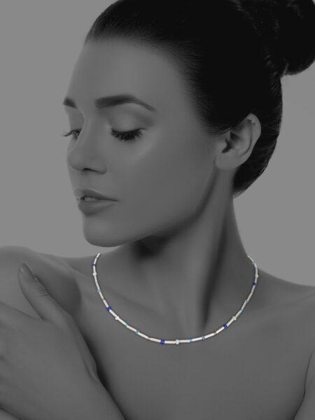 Stars hematite necklace