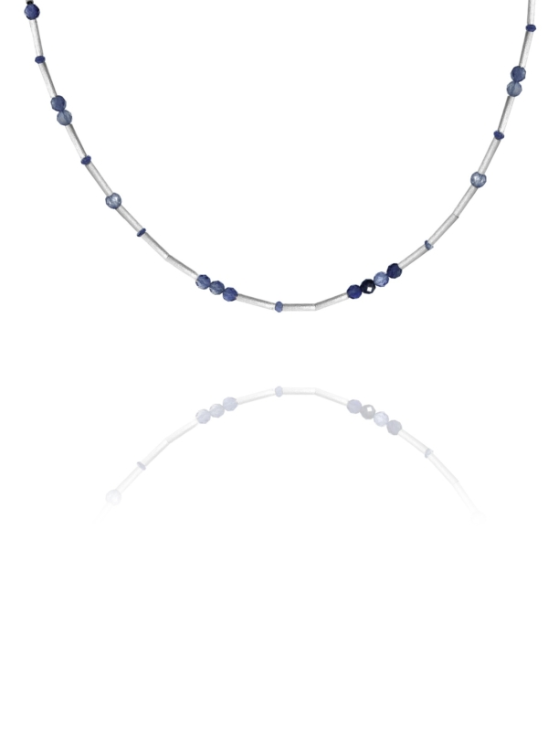 Stars iolite necklace