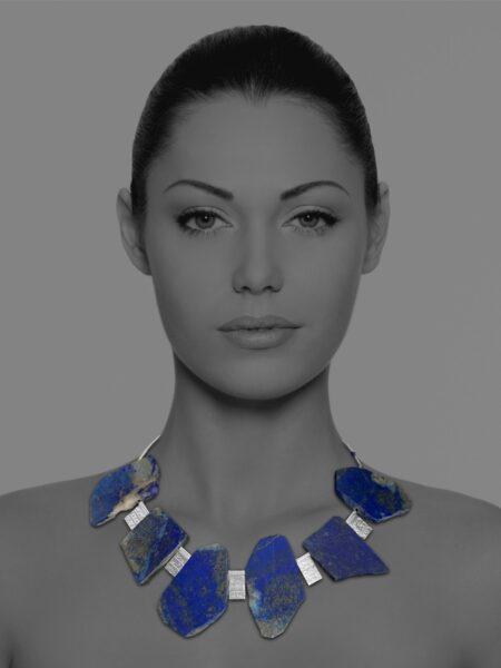 Unique Grand lapis necklace