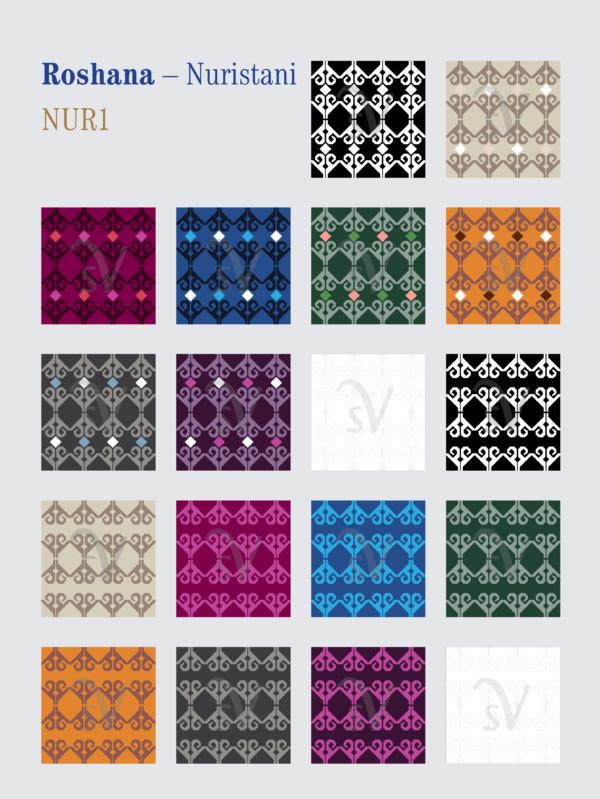 Roshana – Nuristani patterns