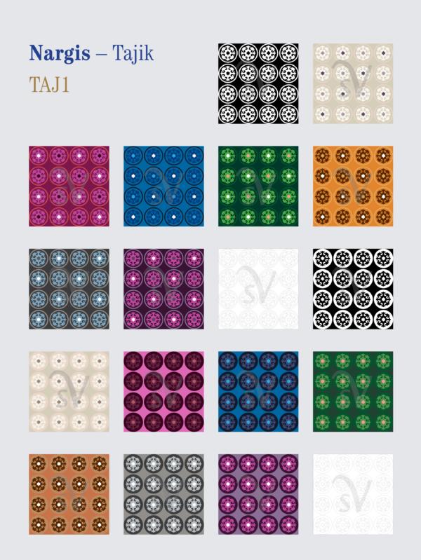 Nargis – Tajiks of Afghanistan patterns