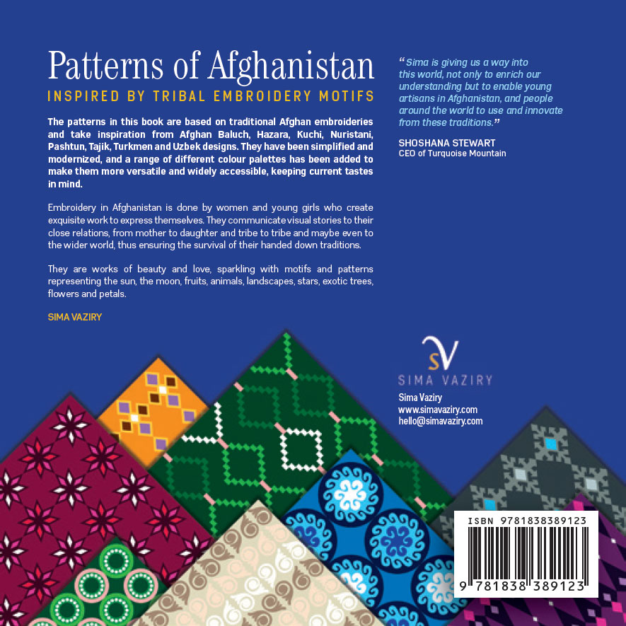 patterns of afghanistan book cover back x
