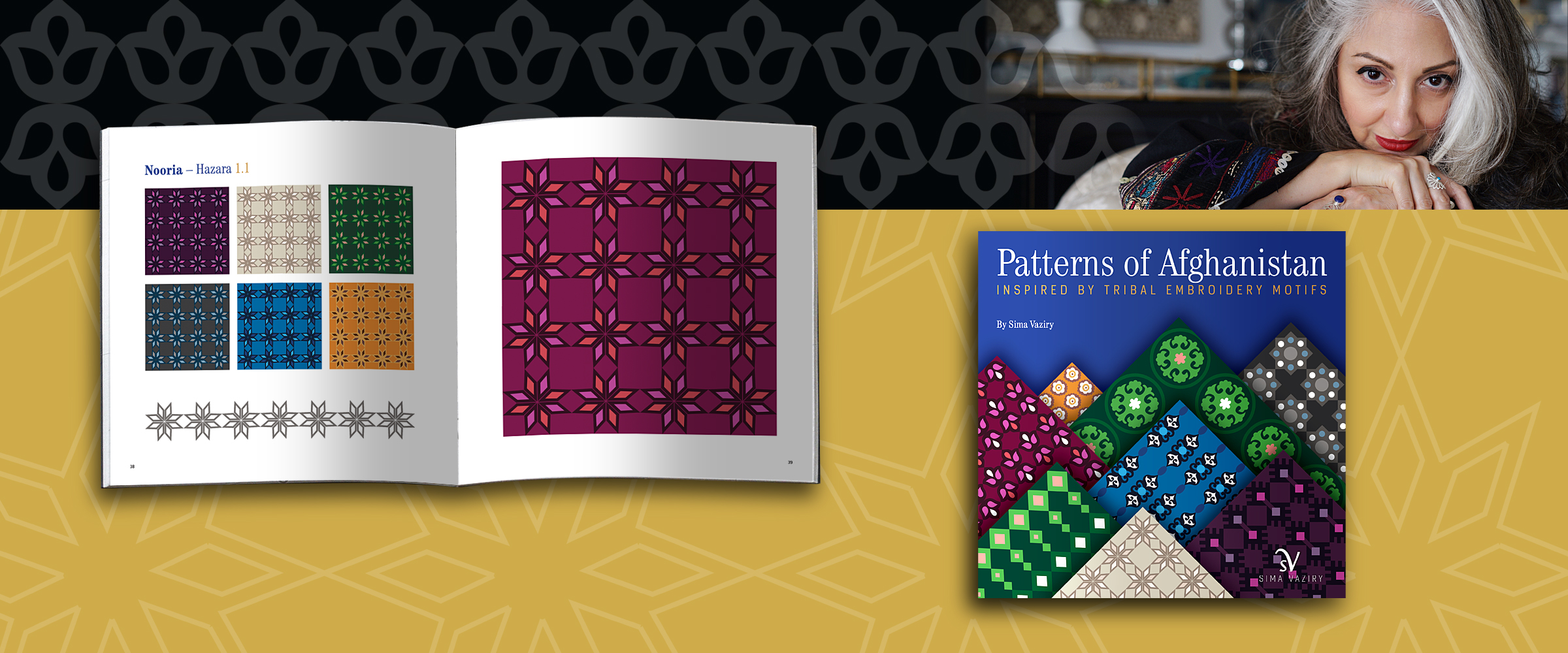 sima vaziry patterns of afghanistan book